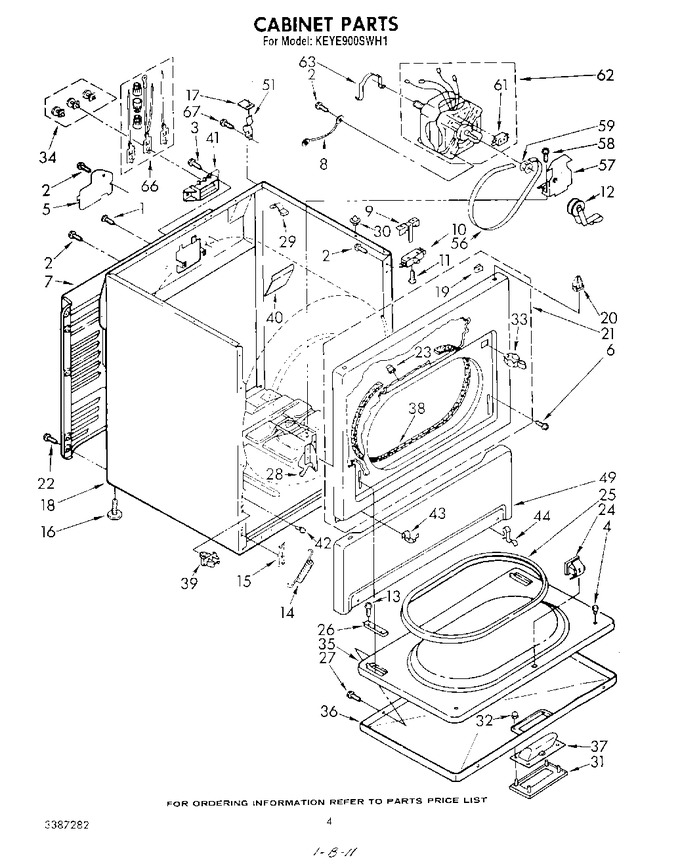 Diagram for KEYE900SWH1