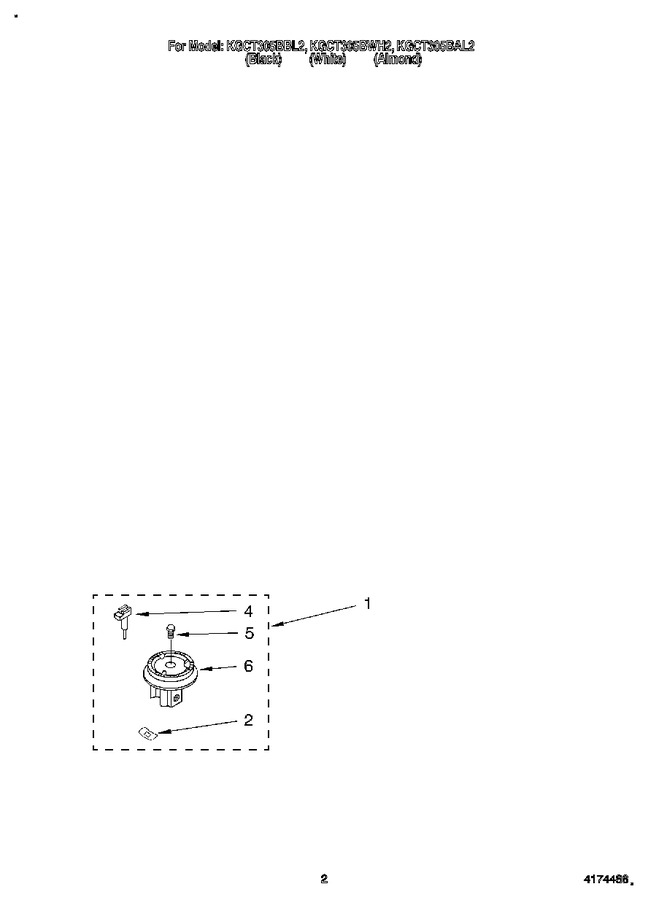 Diagram for KGCT305BAL2