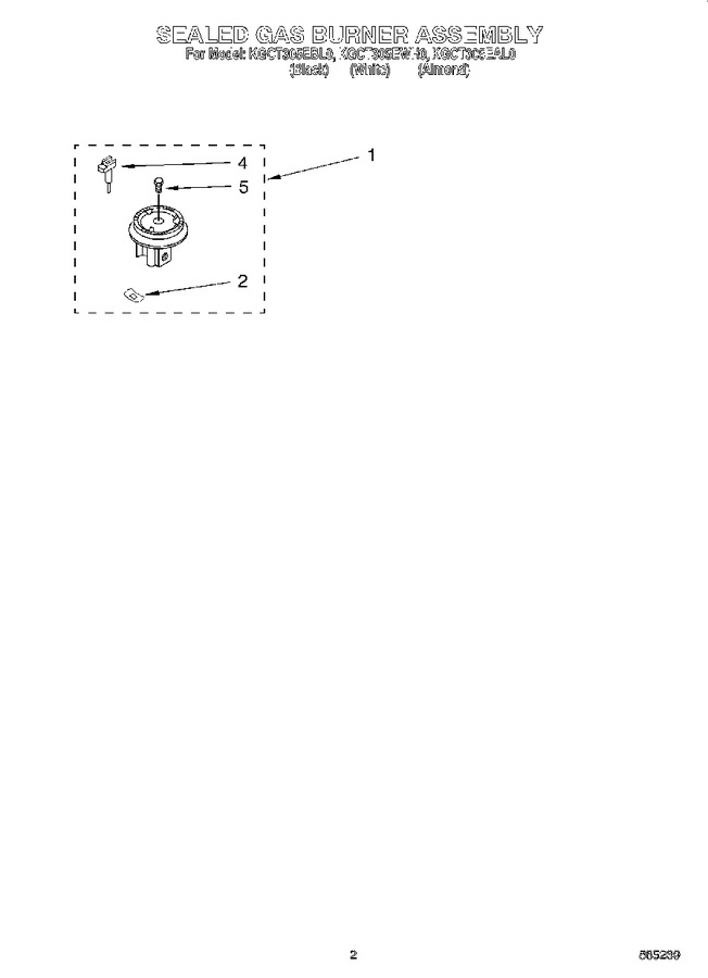 Diagram for KGCT305EBL0