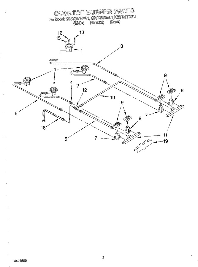 Diagram for KGST307BAL1