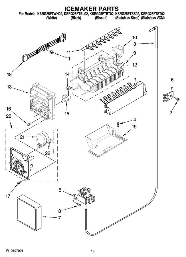 Diagram for KSRG25FTWH02