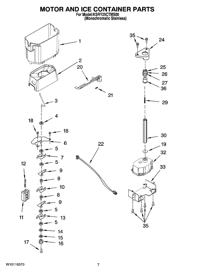 Diagram for KSRY25CTMS00