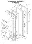 Diagram for 10 - Refrigerator Door