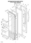 Diagram for 09 - Refrigerator Door