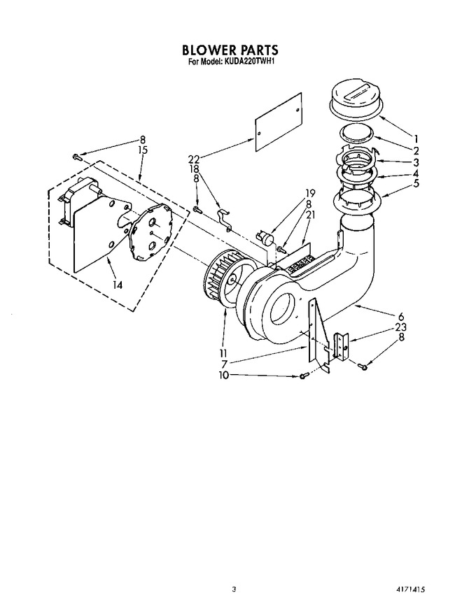 Diagram for KUDA220TWH1