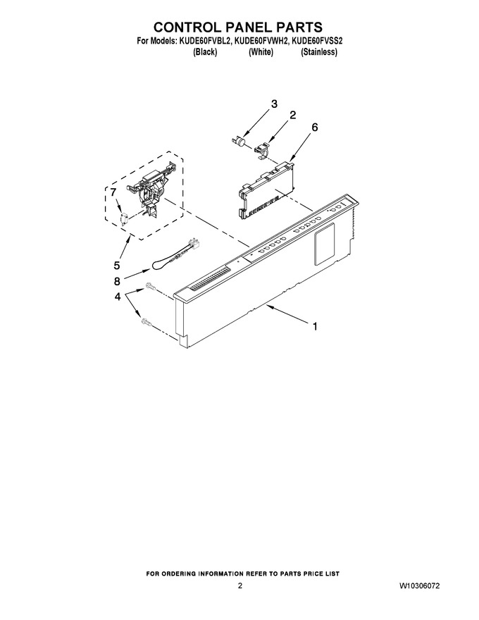 Diagram for KUDE60FVWH2