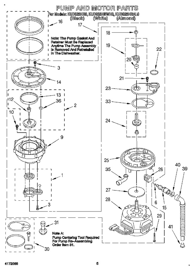 Diagram for KUDS23HBWH0