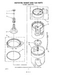 Diagram for 04 - Agitator, Basket, Tub