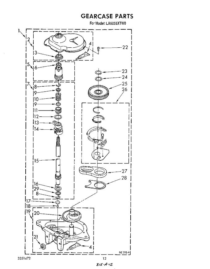 Diagram for LA6055XTG0