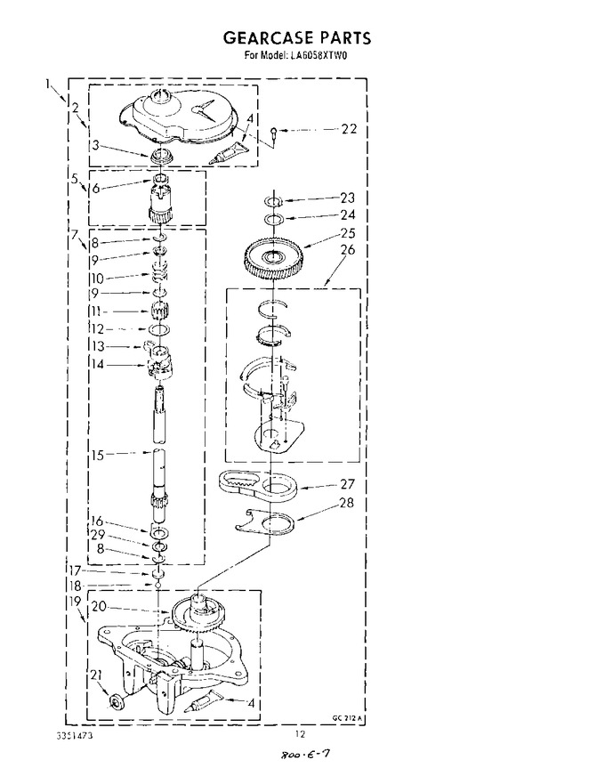 Diagram for LA6058XTG0