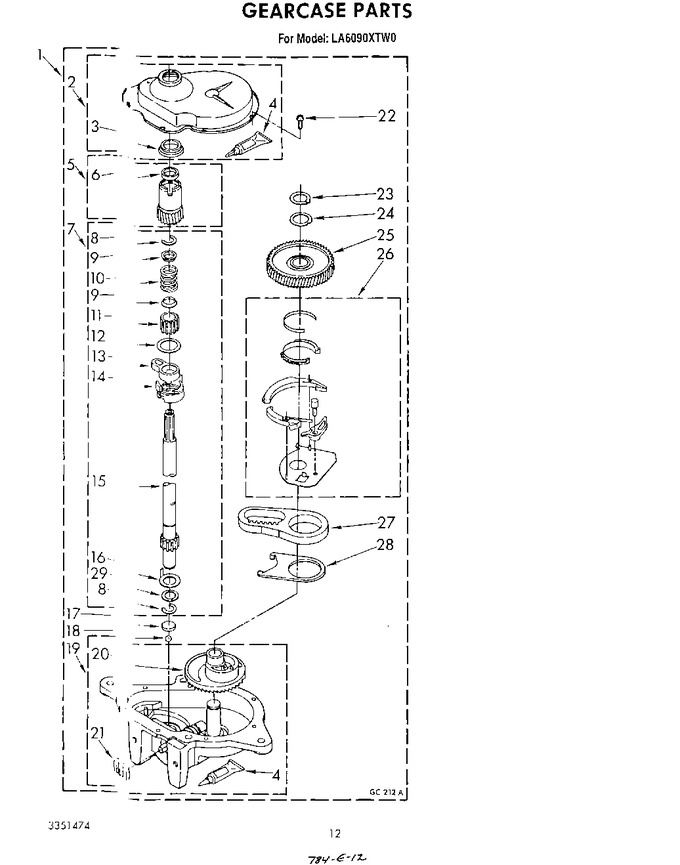Diagram for LA6090XTG0