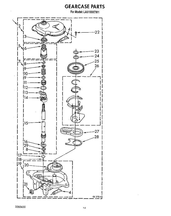 Diagram for LA9100XTF1