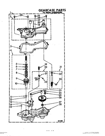 Diagram for LB3000XKW0
