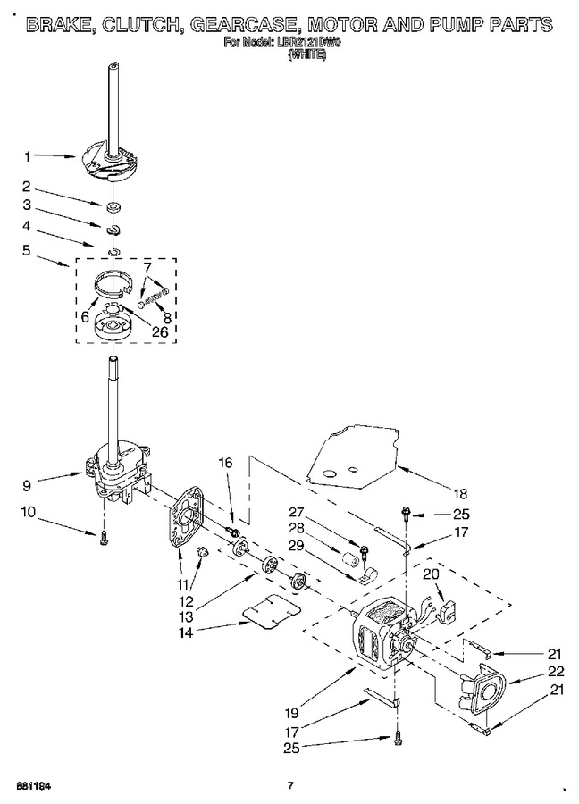 Diagram for LBR2121DW0
