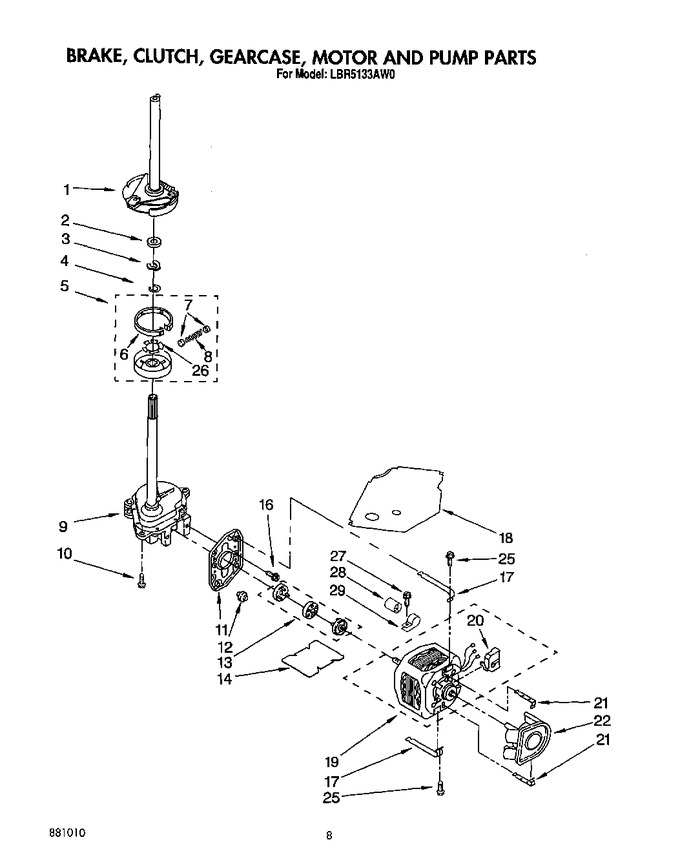 Diagram for LBR5133AW0