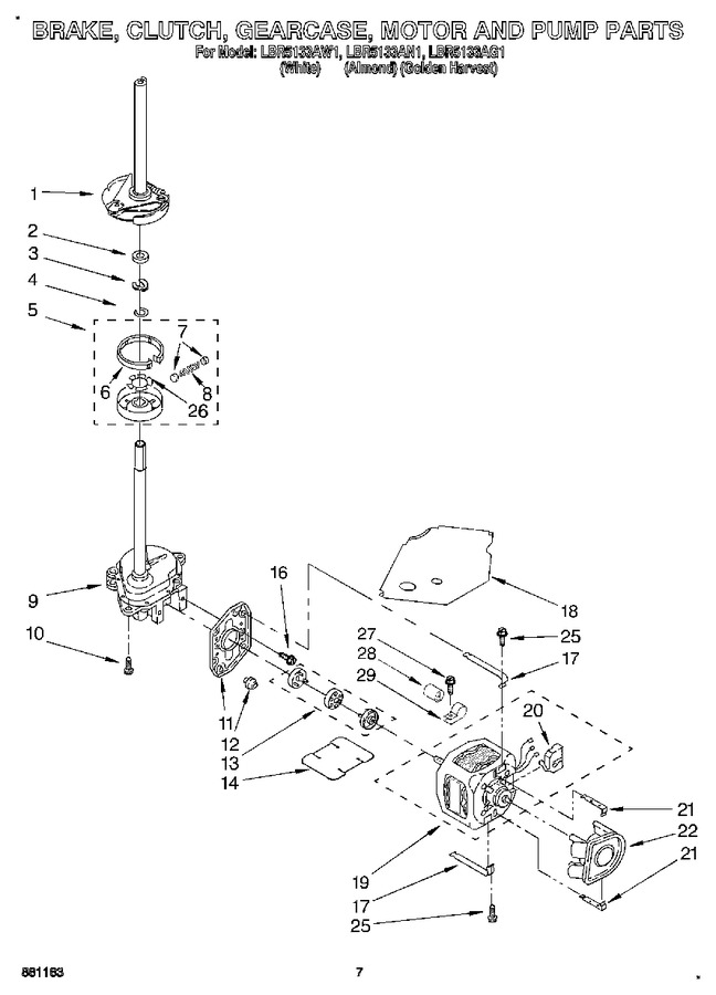 Diagram for LBR5133AW1