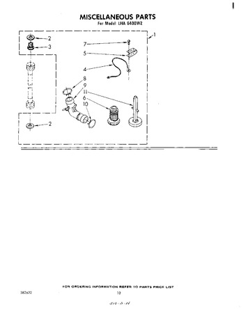 Diagram for LHA6400W2