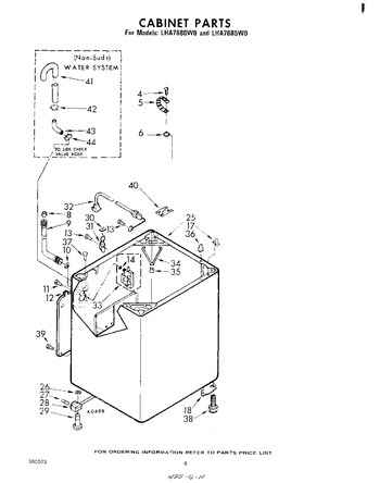 Diagram for LHA7685W0
