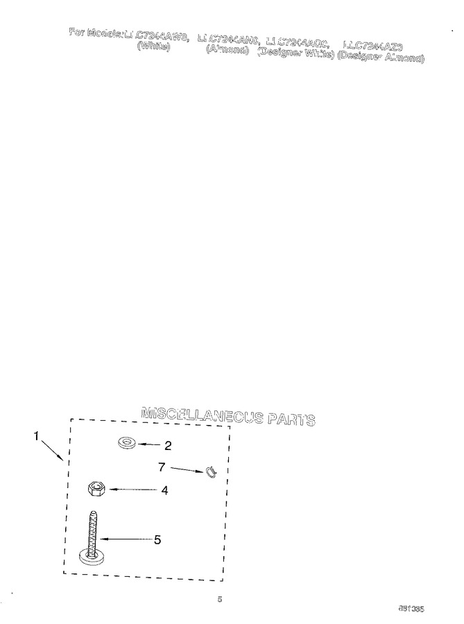 Diagram for LLC7244AZ0