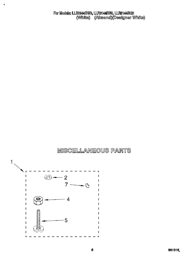 Diagram for LLR6144BQ0
