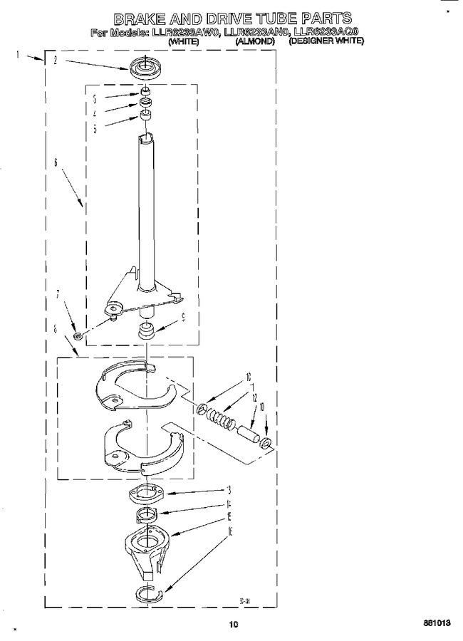Diagram for LLR6233AW0