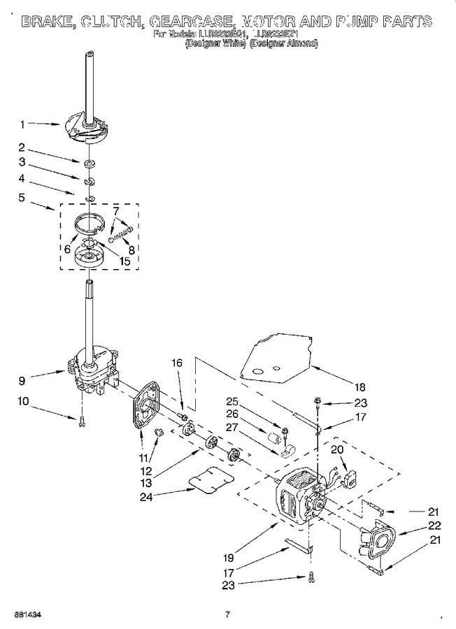 Diagram for LLR8233EQ1