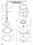 Diagram for 03 - Agitator, Basket And Tub
