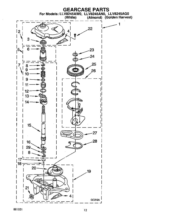 Diagram for LLV8245AN0