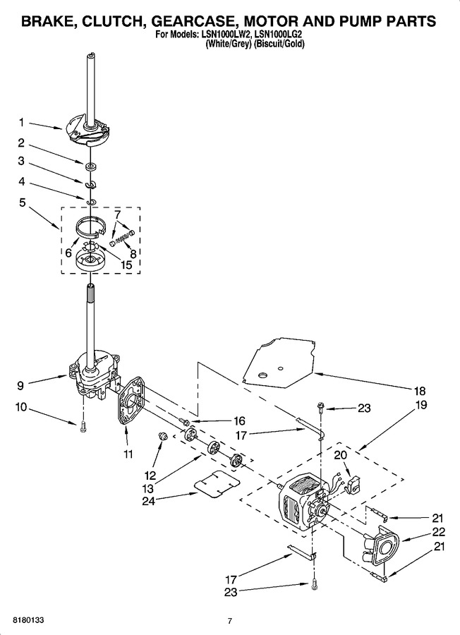 Diagram for LSN1000LW2