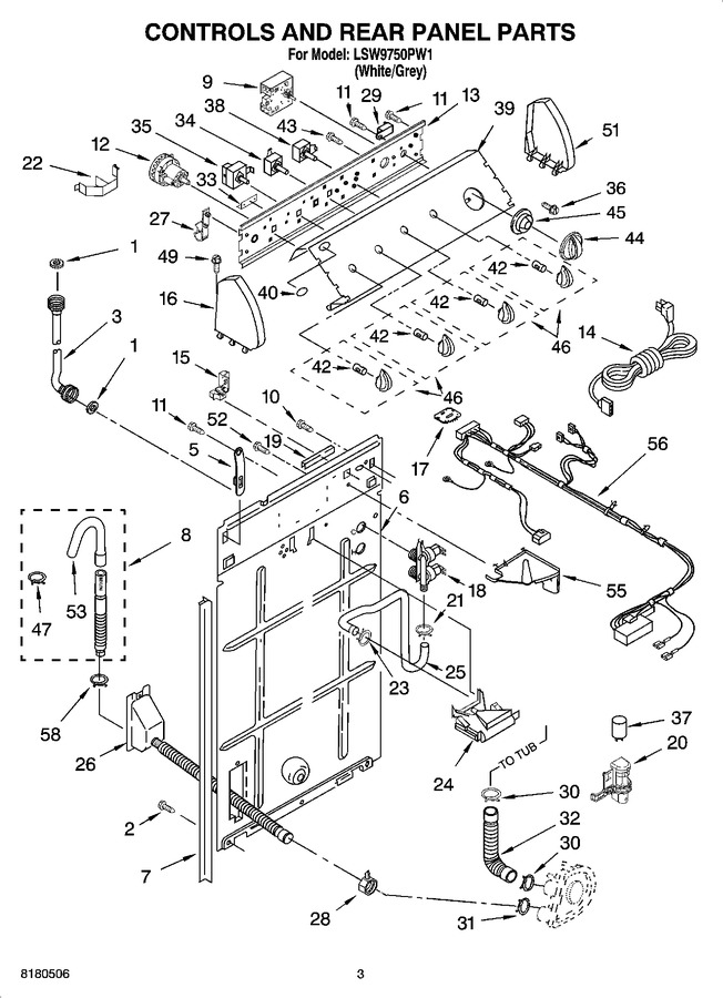Diagram for LSW9750PW1