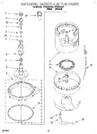 Diagram for 10 - Agitator, Basket And Tub