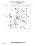 Diagram for 16 - 3402856 Burner Assembly