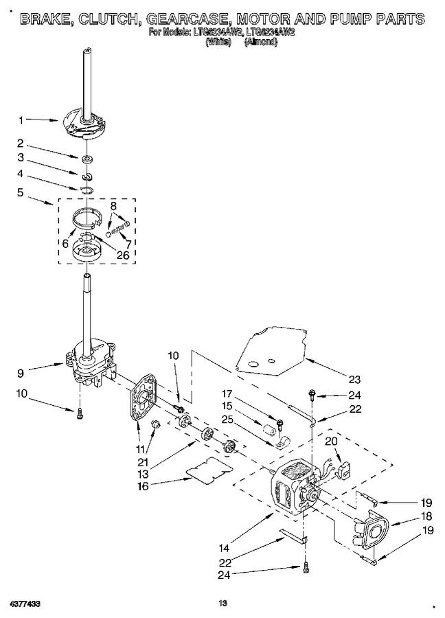 Diagram for LTG6234AW2