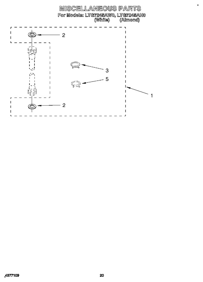 Diagram for LTG7245AN0