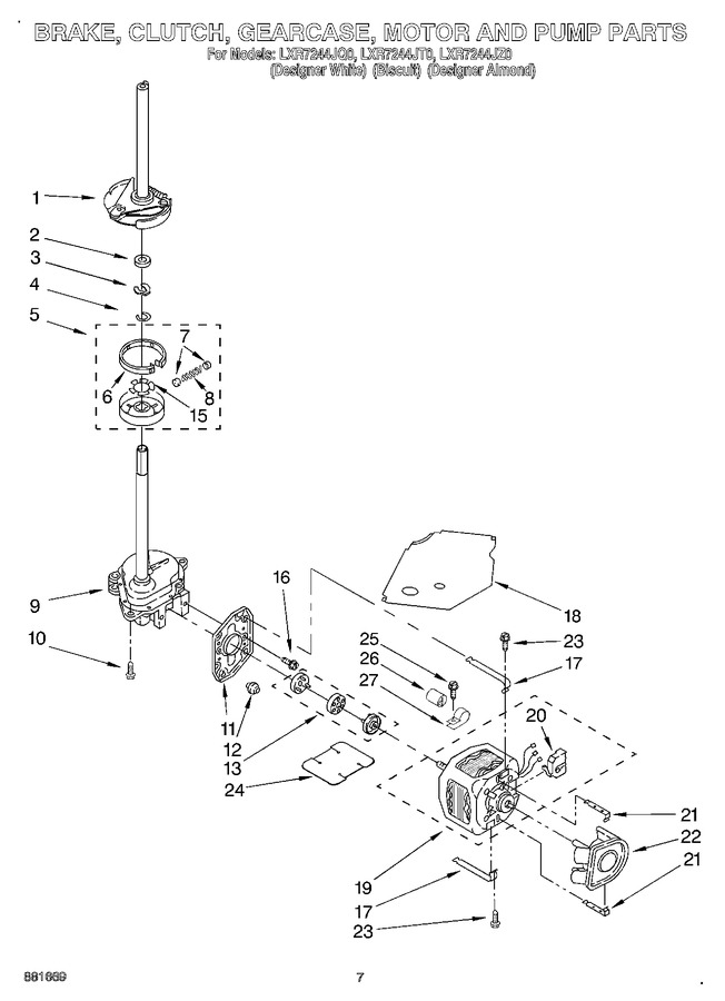 Diagram for LXR7244JZ0