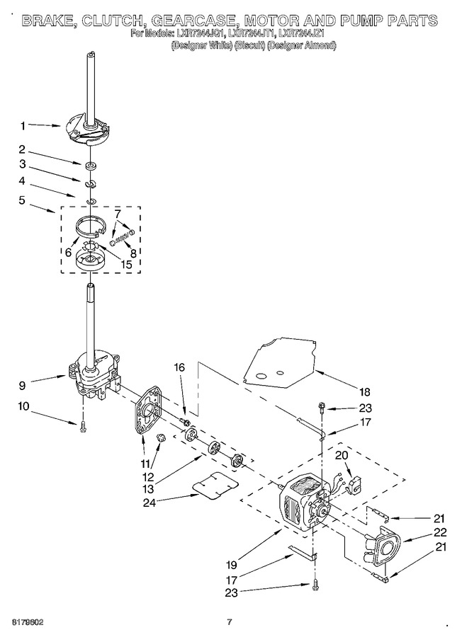 Diagram for LXR7244JZ1