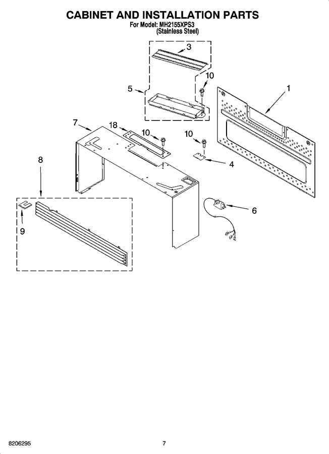 Diagram for MH2155XPS3