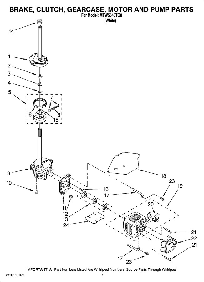 Diagram for MTW5640TQ0