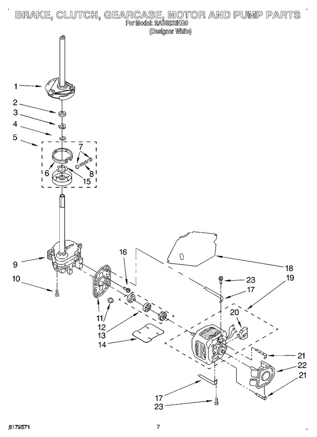 Diagram for RAS6233KQ0