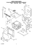 Diagram for 02 - Upper Oven Parts