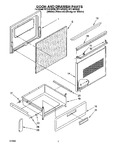 Diagram for 03 - Door And Drawer