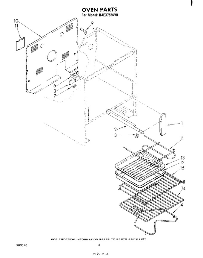 Diagram for RJE3750W0