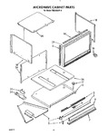 Diagram for 08 - Microwave Cabinet, Optional