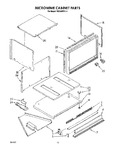 Diagram for 08 - Microwave Cabinet