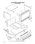 Diagram for 02 - Microwave Cabinet