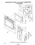 Diagram for 08 - Microwave Door And Latch