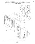 Diagram for 09 - Microwave Door And Latch