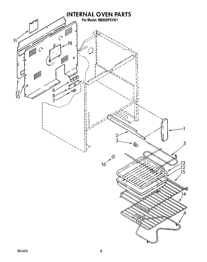 Diagram for RM988PXVF1