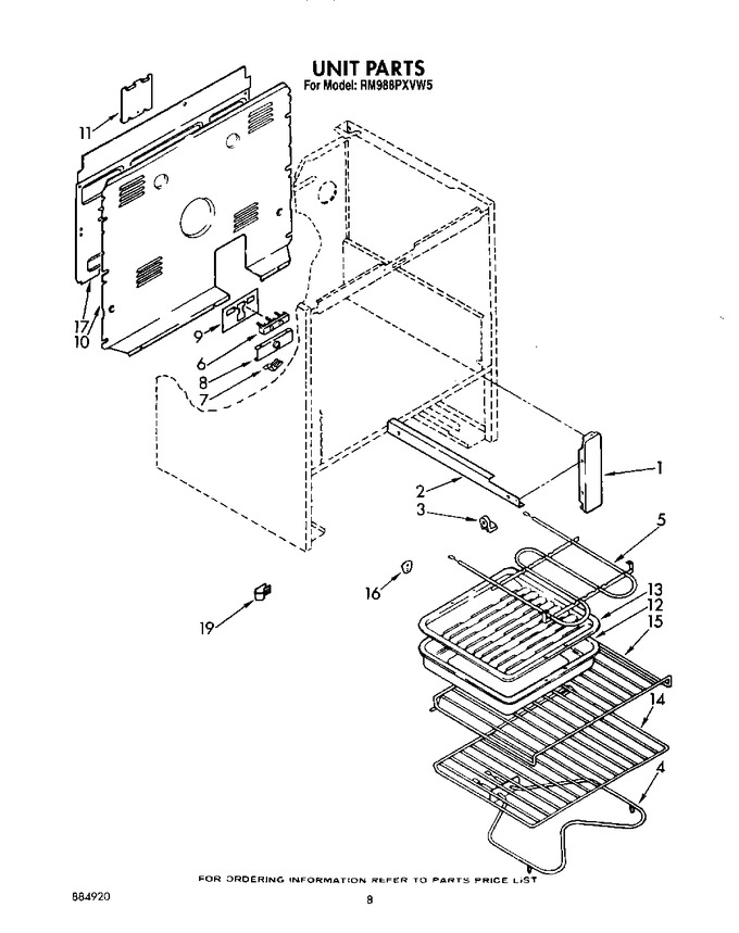 Diagram for RM988PXVF5