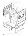 Diagram for 04 - Oven Door And Drawer